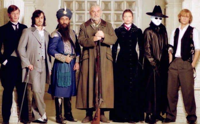 League of Extraordinary gentlemen reboot