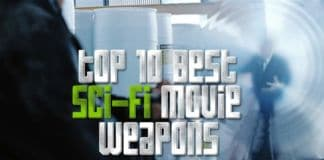 sci-fi movie weapons