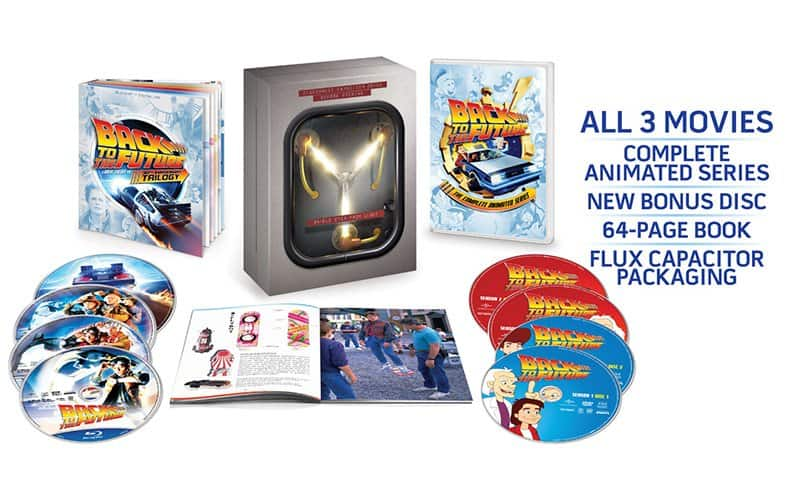 Back to the Future: The Complete Adventures Blu-Ray Set – $50.11