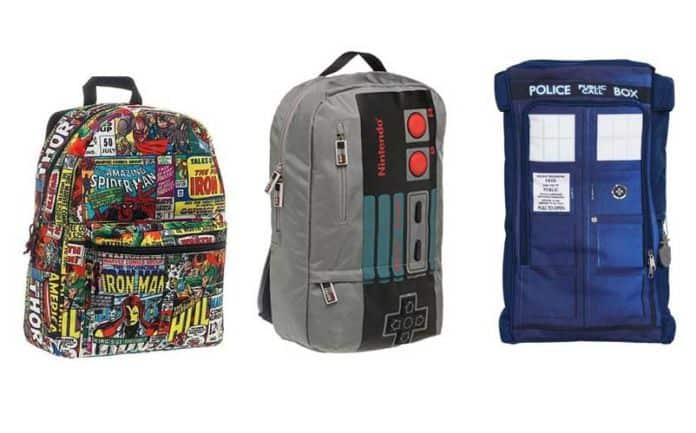 nerdy backpacks