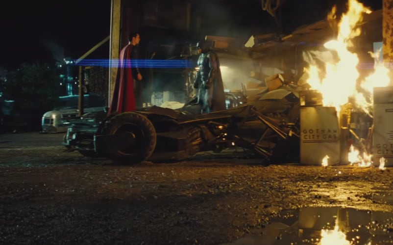 Batman vs superman dawn of justice trailer