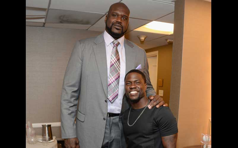 shaq and kevin hart