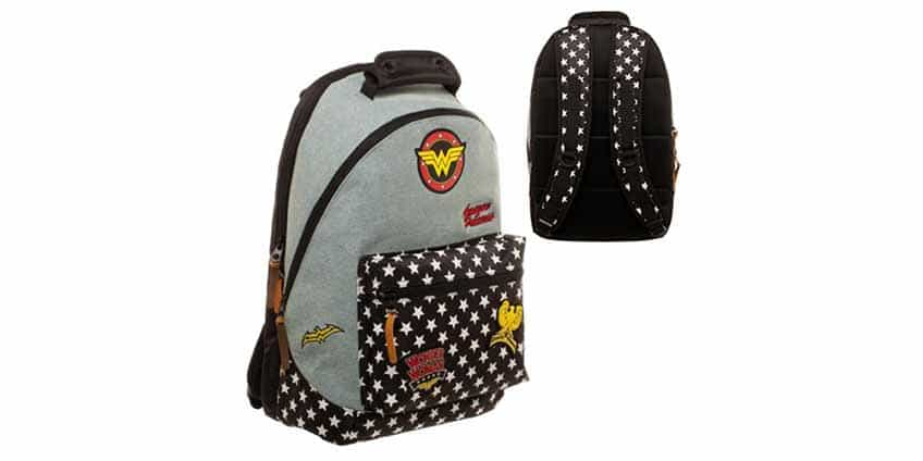 21 Best Nerdy Backpacks: Star Wars, Wonder Woman, & More 2017 Denim Jansport Backpack