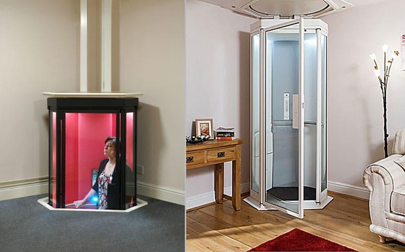 Futuristic Lifestyle Home Elevator