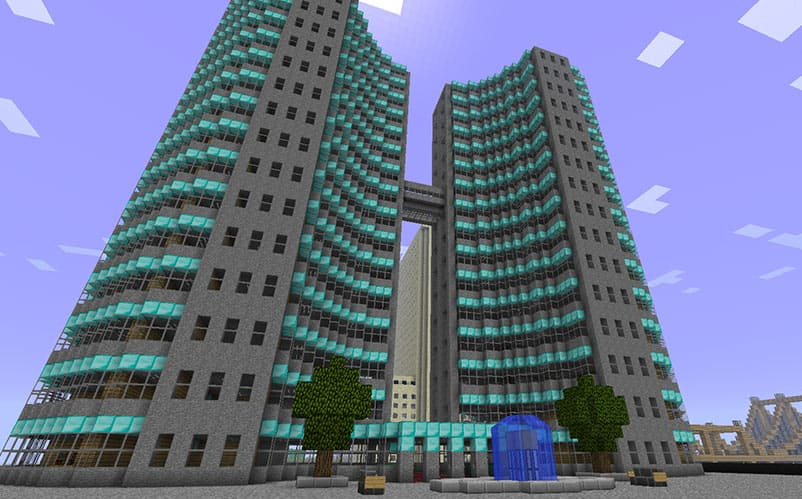 Crazy Office Building Minecraft