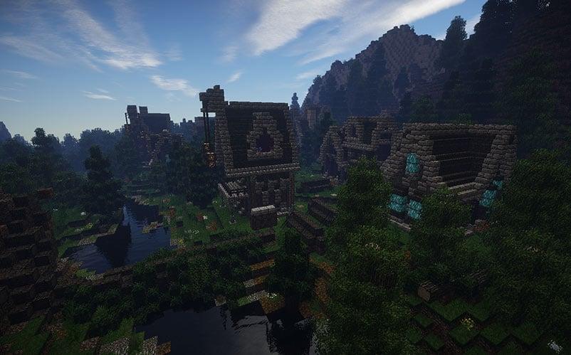 elven city minecraft