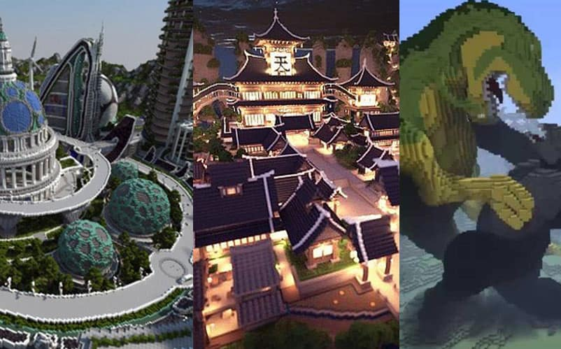 50 best minecraft creations you have to see to believe - Biggest Minecraft House In The World 2016