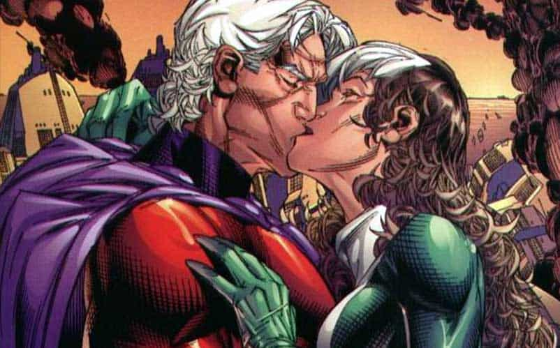 rogue and magneto