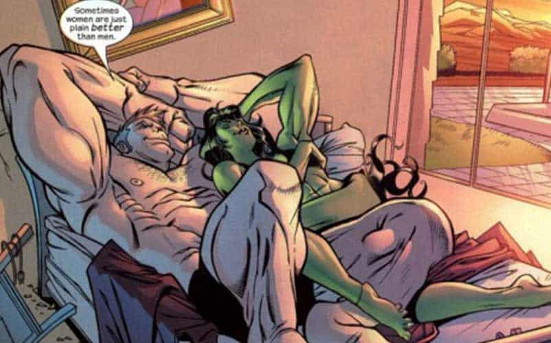 comic book couples