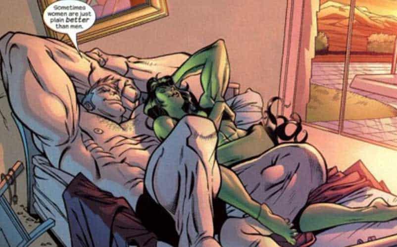 she hulk and relationship