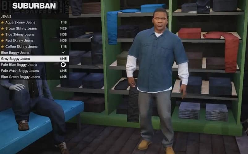 Gta v best clothing store
