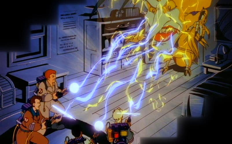 ghostbusters cartoon
