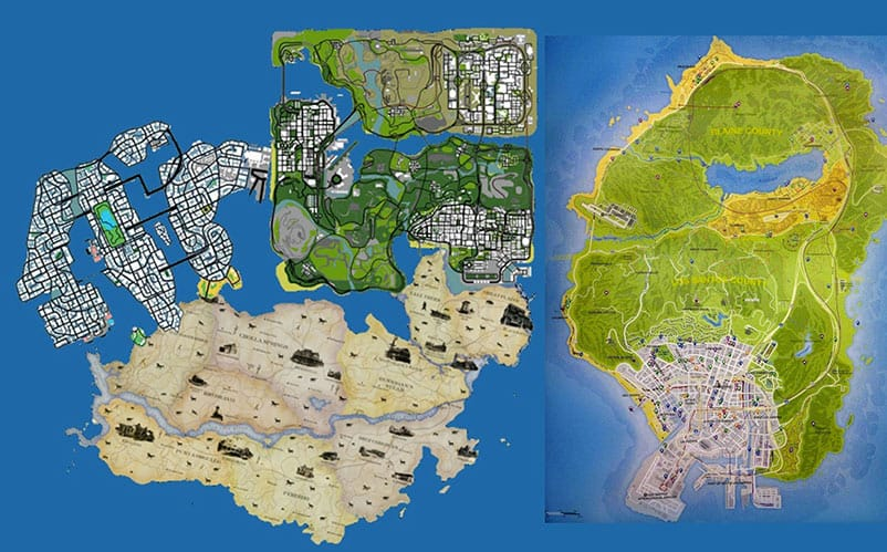 fallout 3 map comparison with New Grand Theft Auto 6 Vi Wishlist Gta 6 Cars Ps4 Xbox One on The tsar bomba mushroom cloud in russia seen from additionally Nuclear War Survival as well 25 Funny Detroit Memes in addition Witcher 3s Blood And Wine Map  pared To Wild Hunt in addition Star Wars Battlefront Looks Really Beautiful In 4k Resolutions.