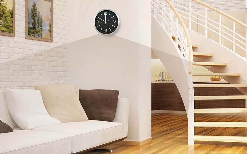 wifi surveillance clock