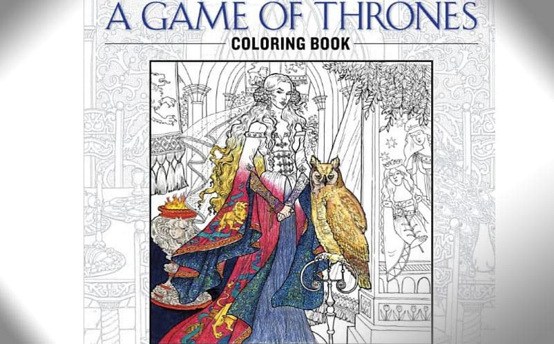 Coloring Book For Pre Official Game Of Thrones Order