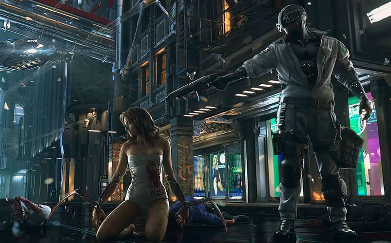 Cyberpunk 2077 Map to be 'Far, Far Bigger' Than Witcher 3 ...