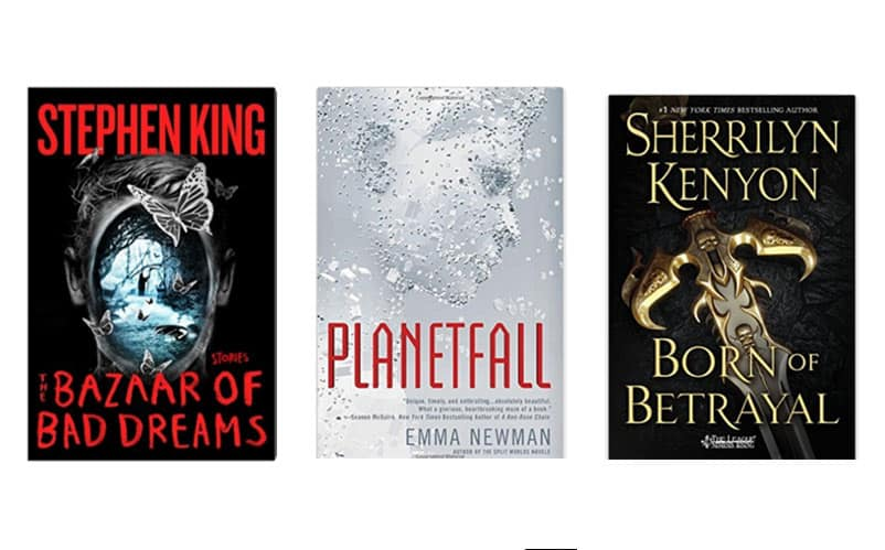 Top 10 Best New Sci Fi Fantasy Books To Read November