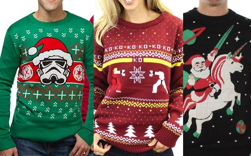 Top 20 Best Ugly Christmas Sweaters for Nerds 2017
