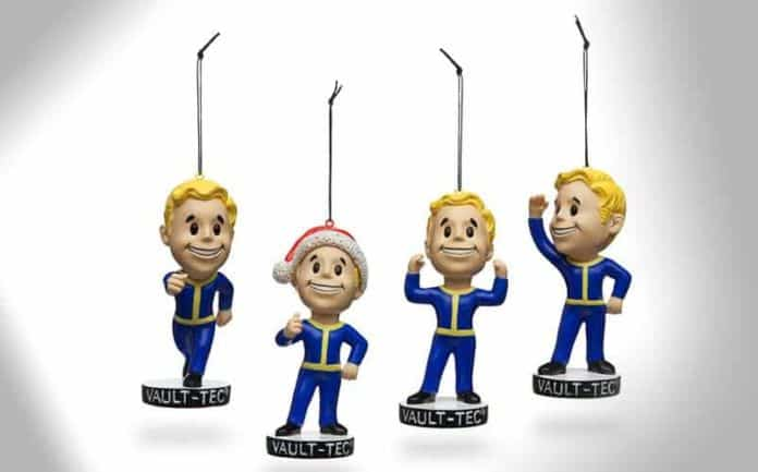 Fallout 4 christmas ornaments