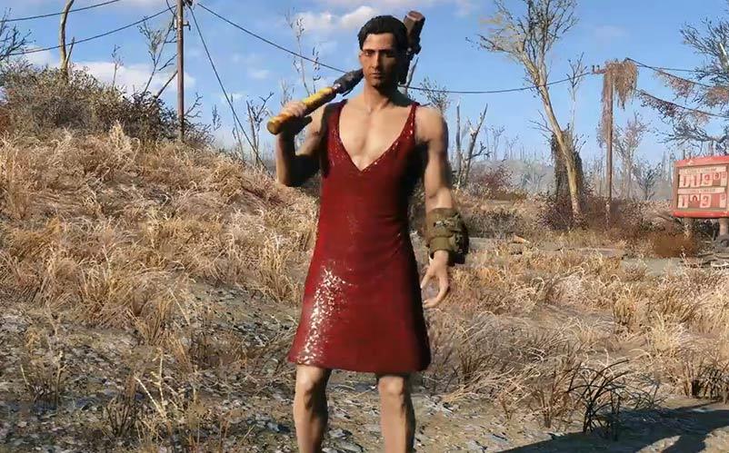 Fallout 4 dress