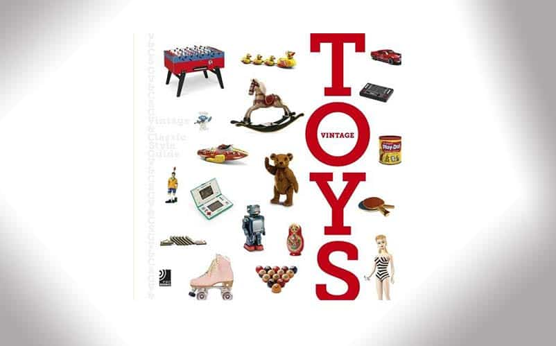 Book on vintage toys