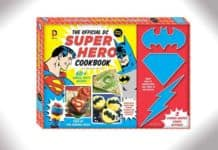 dc super hero cookbook