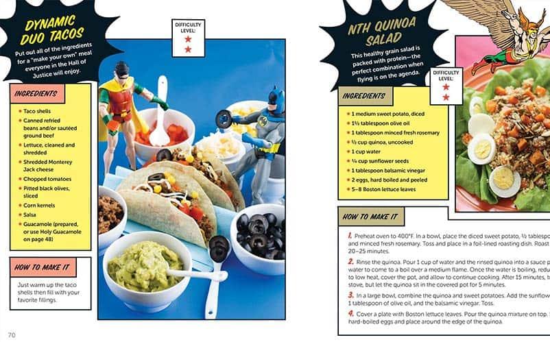 superhero recipes