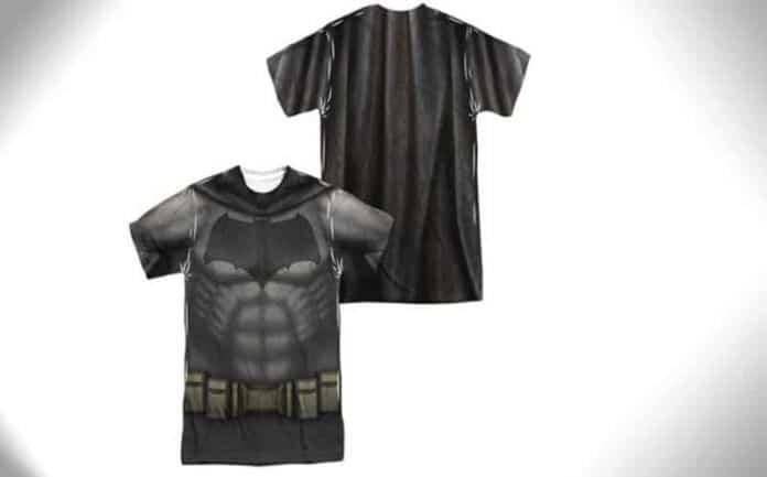 batman v superman bat suit t-shirt