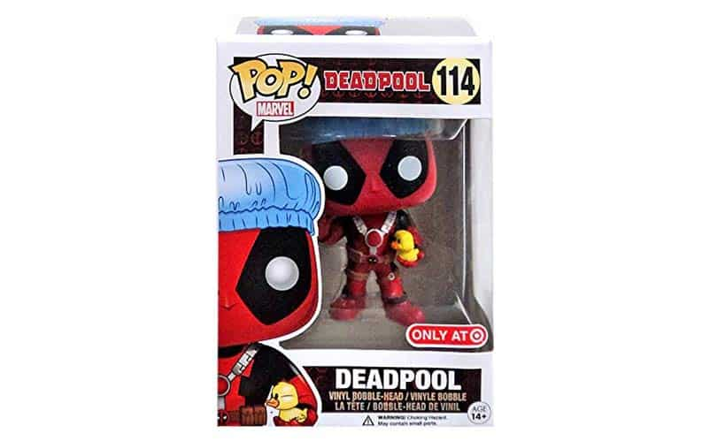 deadpool shower cap
