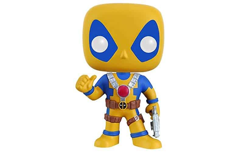 Deadpool yellow blue amazon
