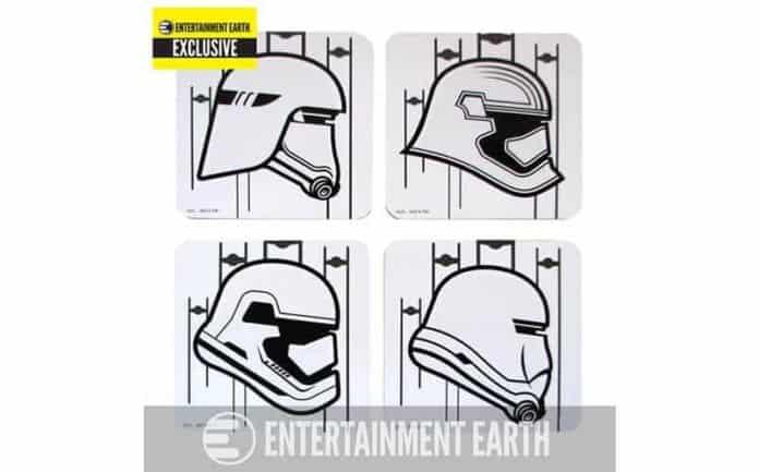 Star Wars stormtrooper coasters