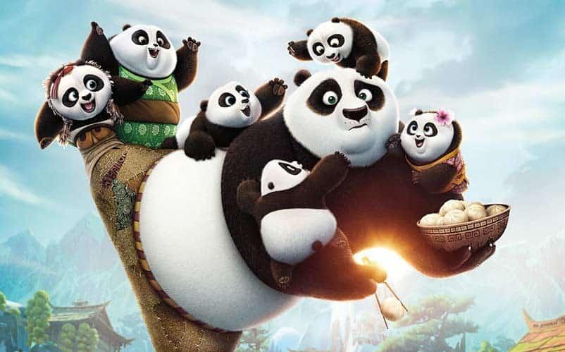 Kung Fu Panda 3 release