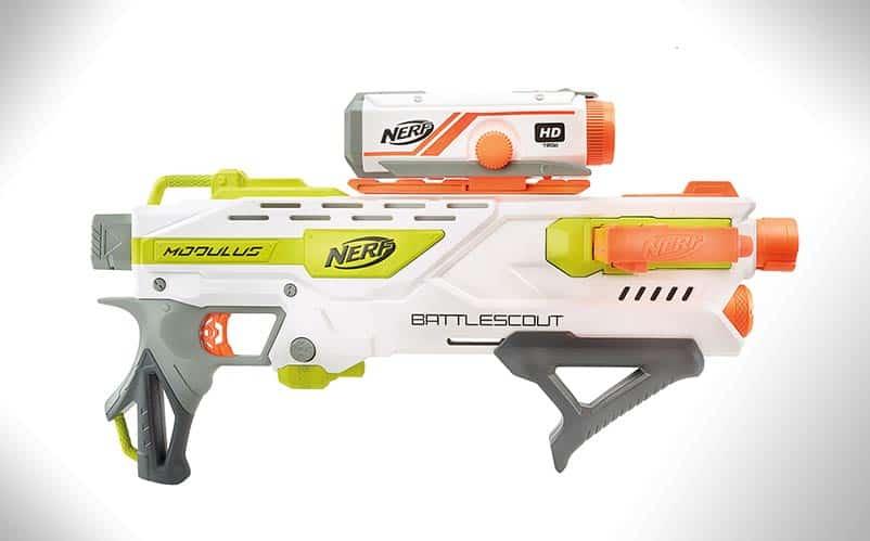 Nerf N Strike Modulus Battlescout Ics 10 Blaster