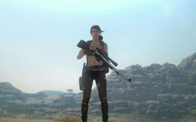 metal gear solid v female character