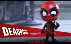 deadpool cosbaby bobble head hot toys
