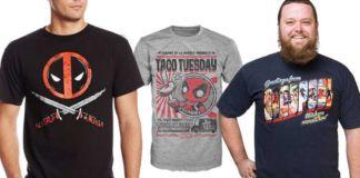 deadpool shirts