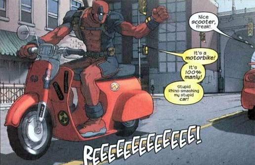 deadpool comics funny