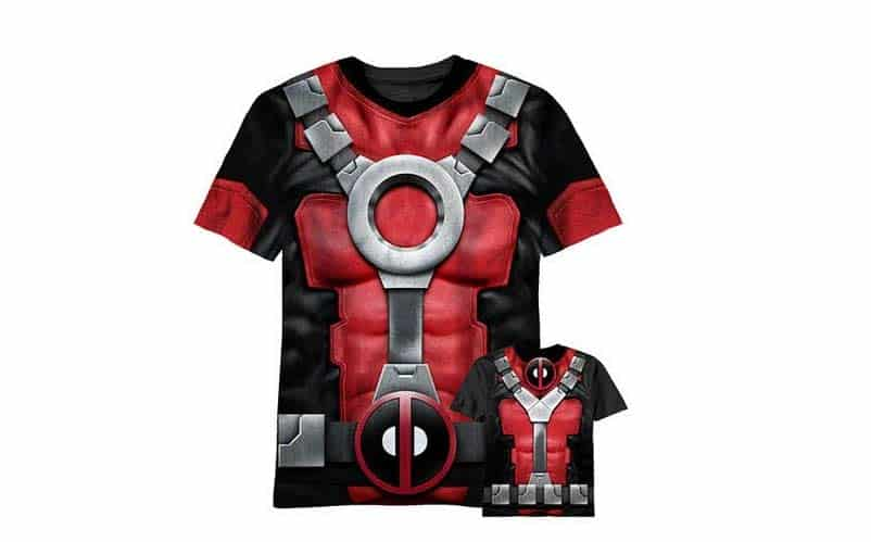 deadpool cosplay shirt