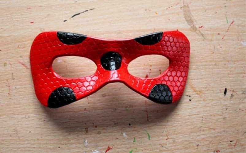 Как сделать супер кота маску