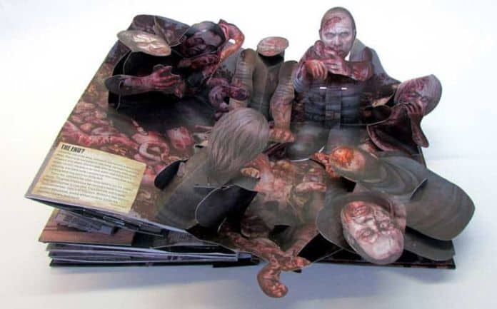 the walking dead pop-up book