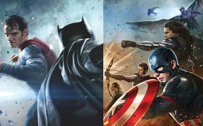 box office battle batman v superman or captain america civil war