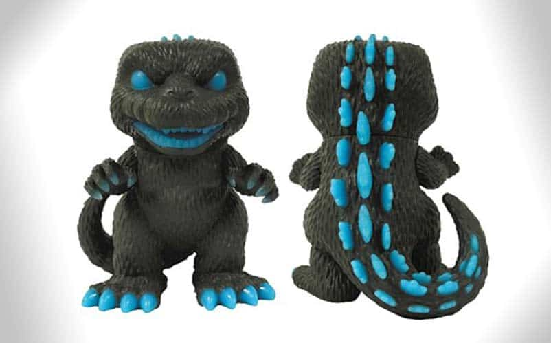Godzilla Atomic Breath Glow In The Dark Funko Pop
