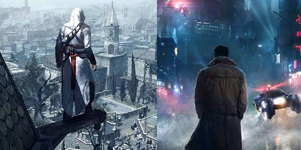 Assassin S Creed Meets Blade Runner Mash Up Game We Want