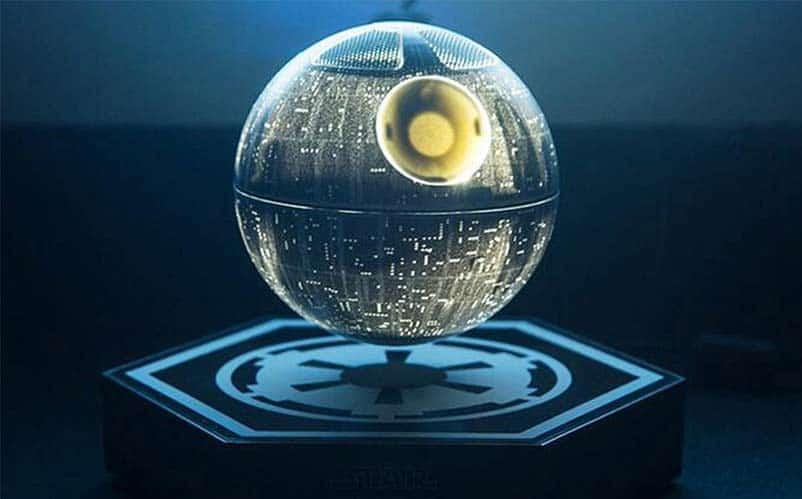 Death Star Levitating Wireless Speaker Nerd Much