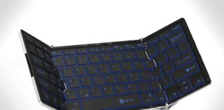 iclever bluetooth foldable keyboard