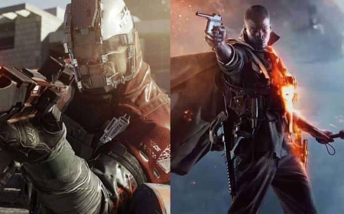 infinite warfare vs. Battlefield 1