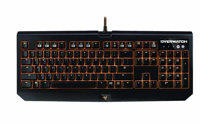 Overwatch Razer keyboard