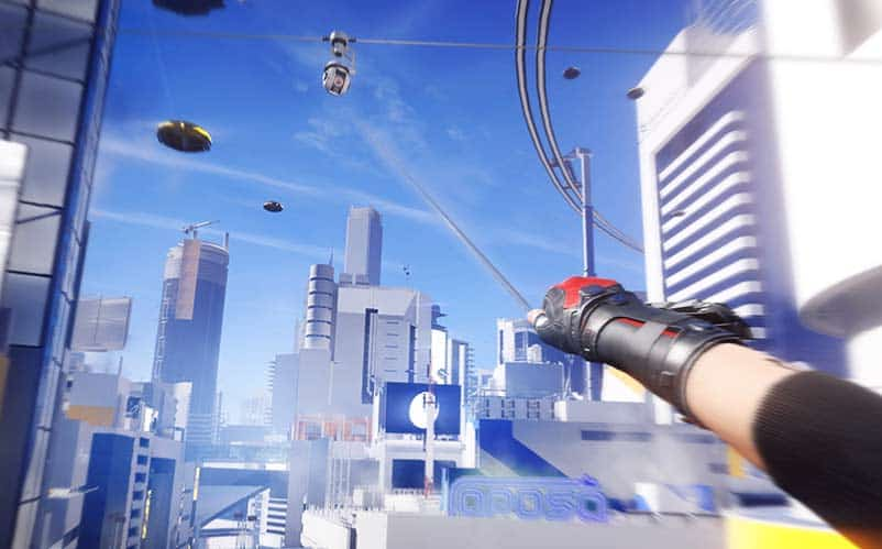 new mirrors edge review