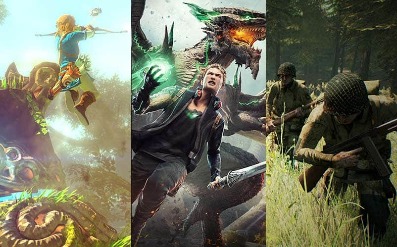 Top 40 Most Anticipated Upcoming Games 2017