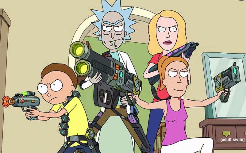 Rick and Morty Season 2 blu-ray review